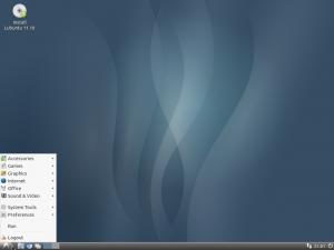 Picture of Lubuntu Desktop