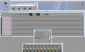 Screenshot of Icaros with Audio Evolution